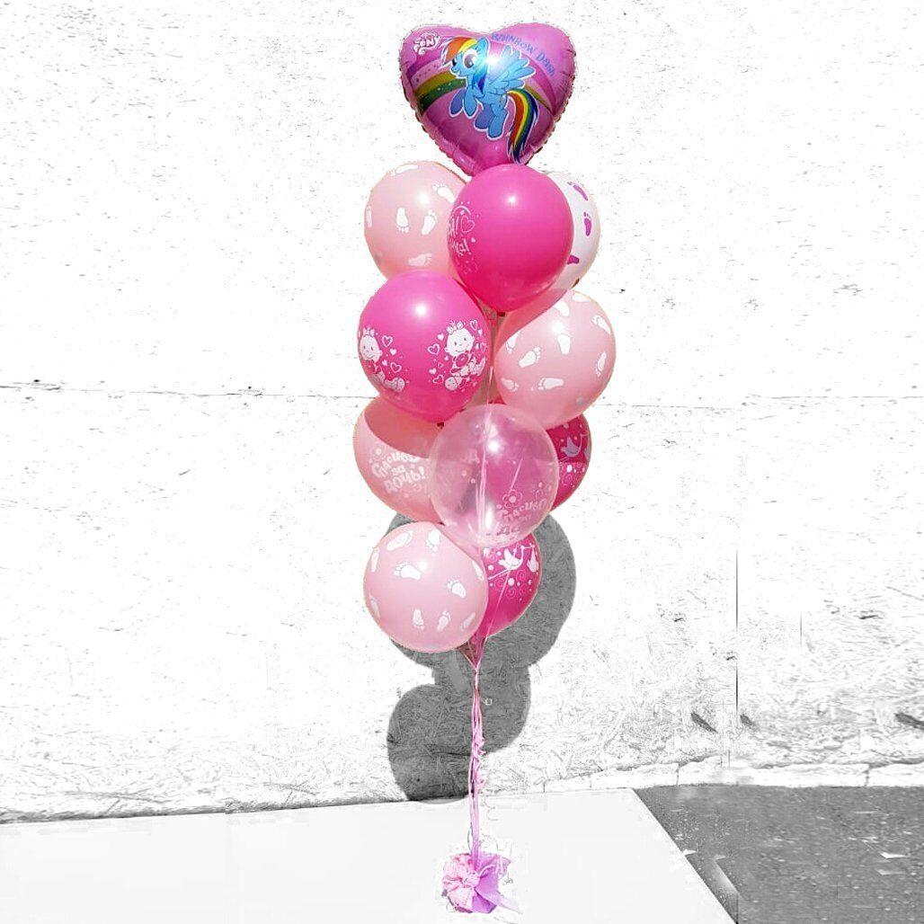Цифрой февраля, картинки фонтаны из шаров